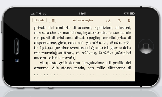 iPhone4 Voltando Pagina Virginia Woolf