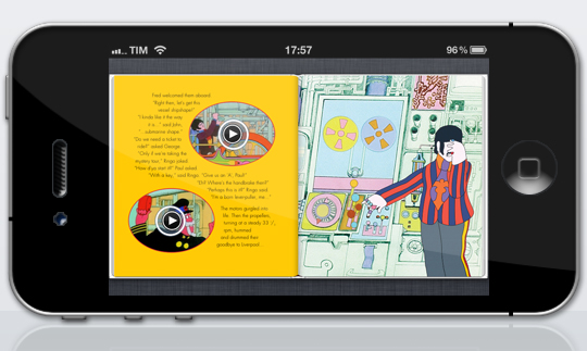 Yellow Submarine iPhone