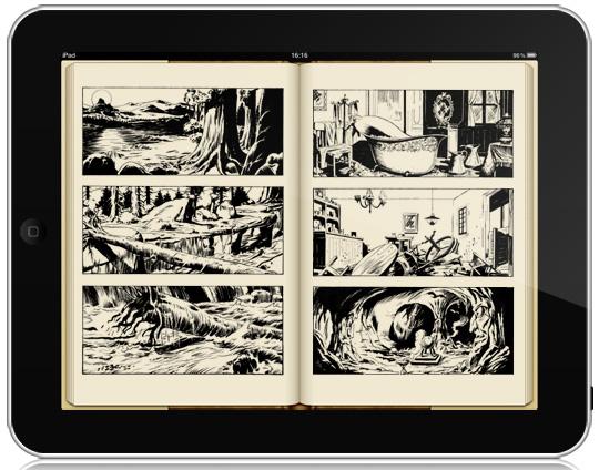 iPad Tirature '12 Disegni Bonelli