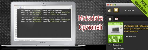 Metadata Opzionali Parte 2