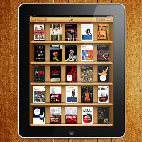iPad Catalogo Saggiatore
