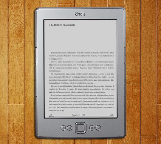 Kindle: Cosa è il Denaro