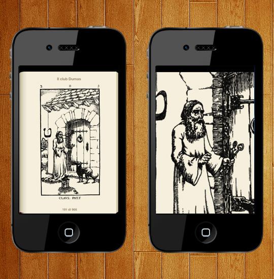 Esempio ingrandimento immagini da iPhone