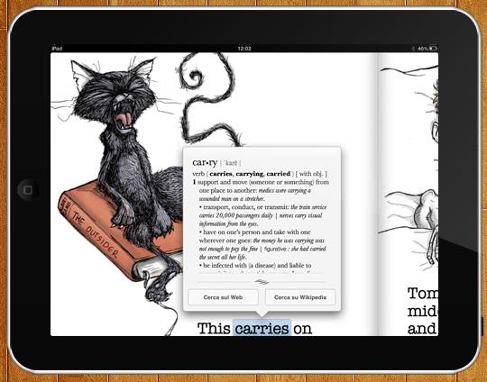 Vocabolario iBooks
