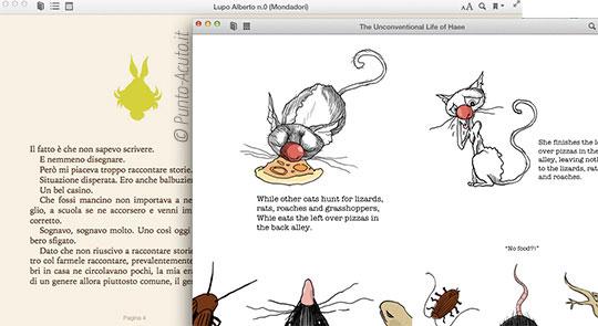 Multitasking con iBooks 1.0 per Mac