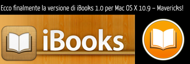 Recensione: iBooks 1.0 per Mac (OSX 10.9 – Mavericks)