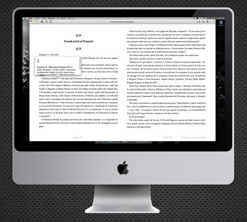 ePub3 su iMac PopUp