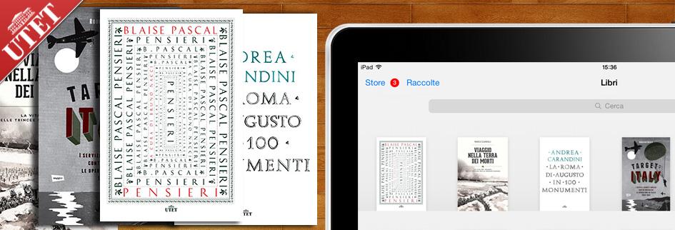 Utet: nuovi eBook realizzati nella versione ePub 3.0 e 2.0